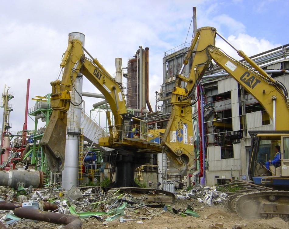 Matériel de démolition de l'entreprise Tractorhin