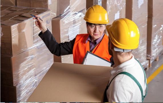 audit de fin de ligne d'emballage