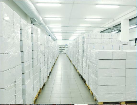 entrepôt stockage produits agroalimentaire